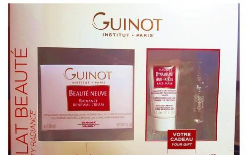 Guinot Beauty Radiance Box ajándékcsomag