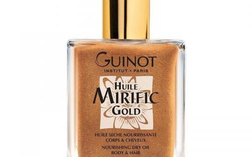 Huile Mirific Gold tápláló, száraz testápoló olaj