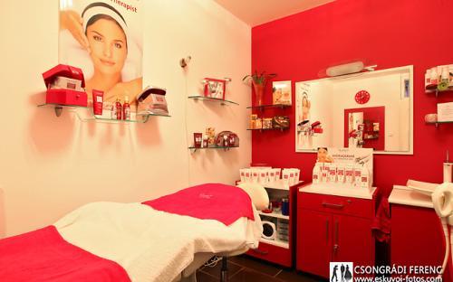 Guinot szépségszalon kezelő helyiség
