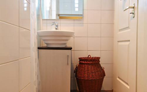 Guinot mosdóhelyiség a kozmetikai szalonban
