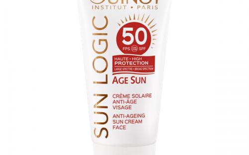 Guinot Sun Logic Age Sun Creme Solaire Anti-Age Visage SPF50